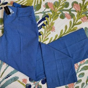 NWT The Limited Blue Lexie Fit Career Pants